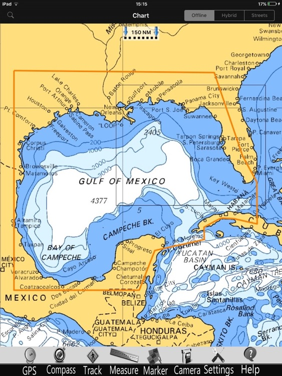 Gulf of Mexico GPS Nautical charts pro screenshot-4