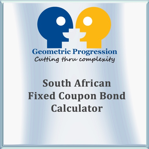 South African Fixed Coupon Bond Calculator By Geometric Progression
