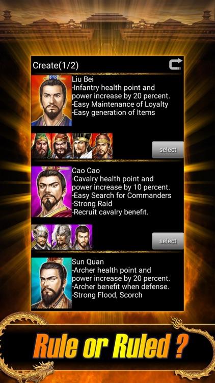 Mobile Three Kingdoms screenshot-0
