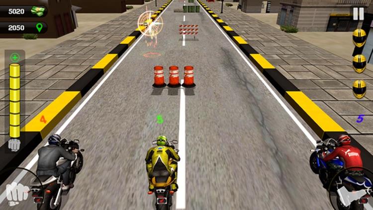 Road Rush Motorbike Rider - Ride the Moto bike in highway