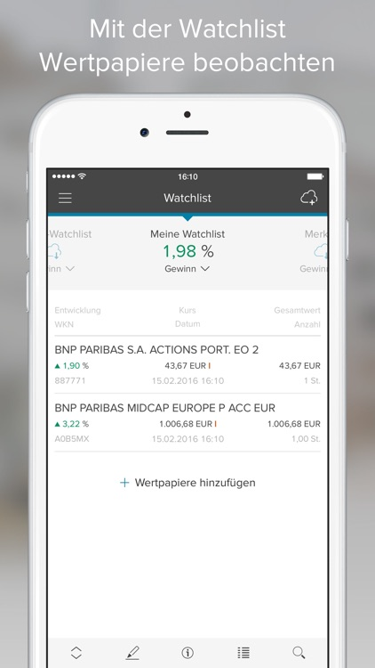 Consorsbank screenshot-4
