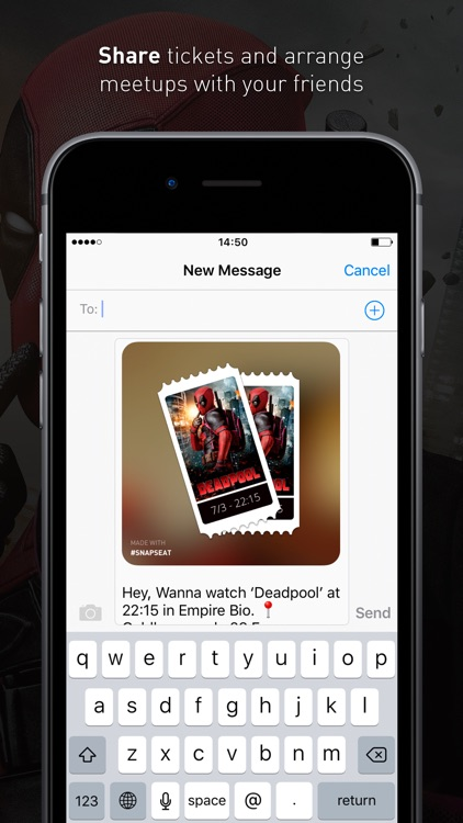 Snapseat - Browse nearest cinema movies screenshot-4
