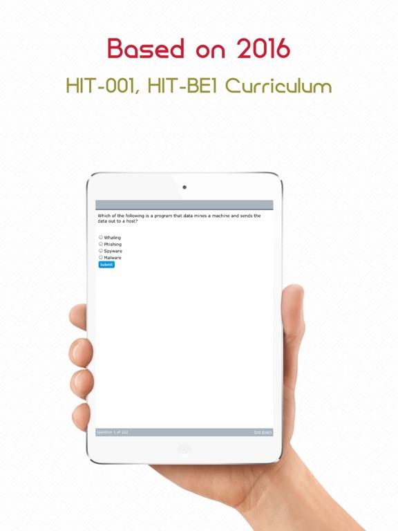 Screenshot #5 pour HIT-001 : CompTIA Healthcare IT Technician.
