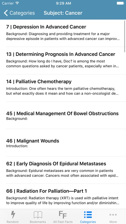 Palliative Care Fast Facts screenshot-4