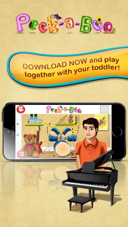 Peekaboo I see You – Educating discovery playground for preschooler baby to Kids screenshot-4