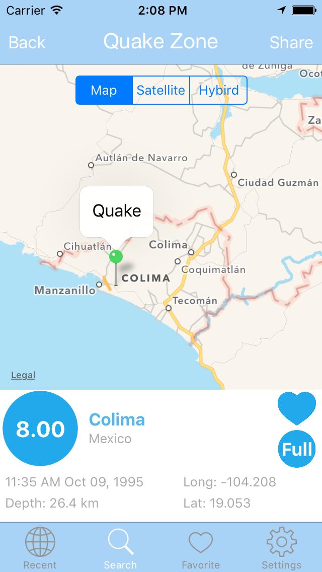 Earthquake PRO - Alert & Search USGS Data Editionのおすすめ画像1