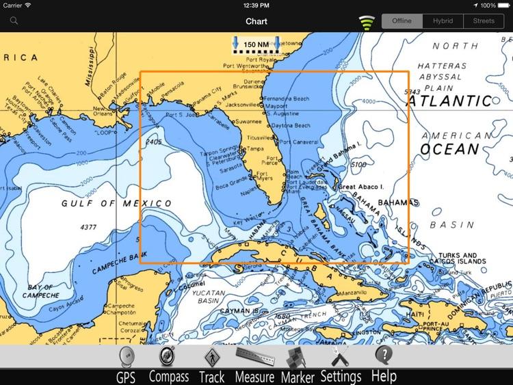 Florida GPS Nautical Chart Pro screenshot-4