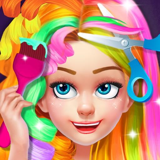 Kids Hair Salon - Hairstyles Maker & Dress up