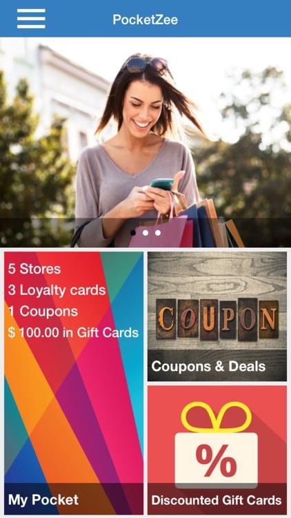 Gift Card Wallet - PocketZee