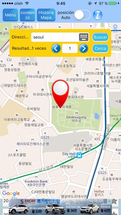 Tracer RouteCaptura de pantalla de2