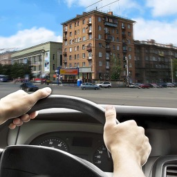 Driving Speed Russia Car City