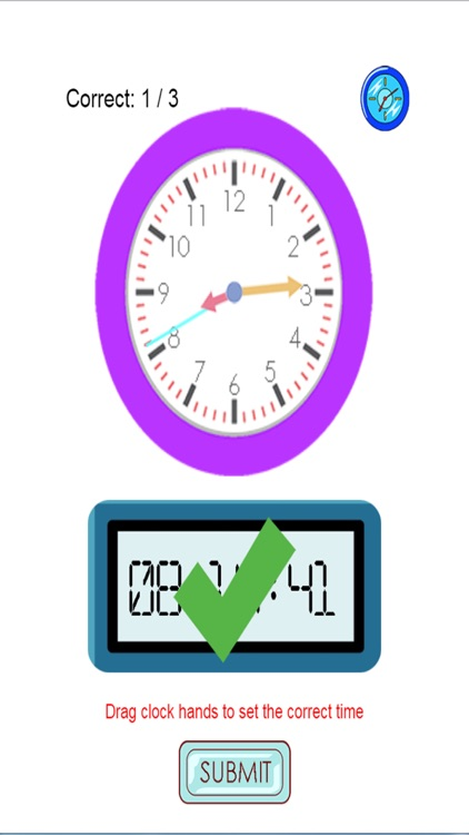 Telling Time for Kindergarten - Learning to Tell Timeclock screenshot-3