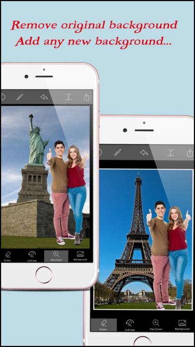 Superimpose - Photo Background Changer and Sticker Maker