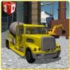 Concrete Excavator Simulator – Operate crane & drive truck in this simulation game