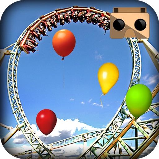 Roller Coaster Balloon Blast VR
