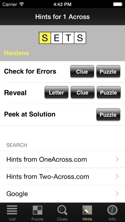 Crosswords Classic screenshot-3
