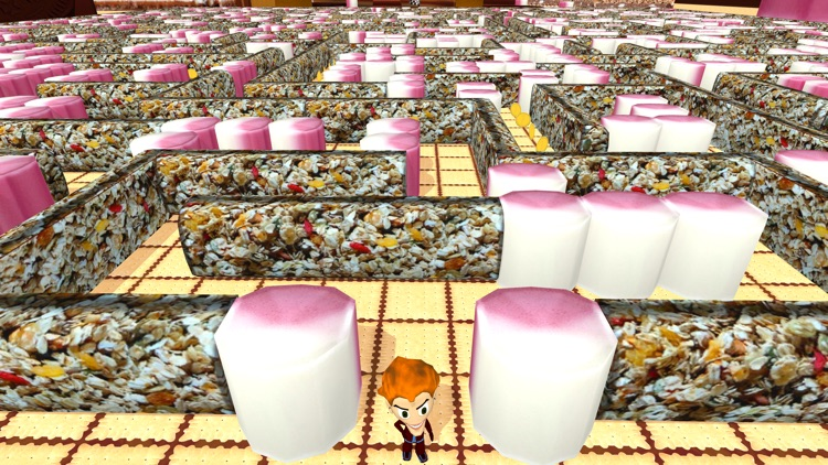 Sweetie Maze 3D - Solve Delicious Labyrinth screenshot-3