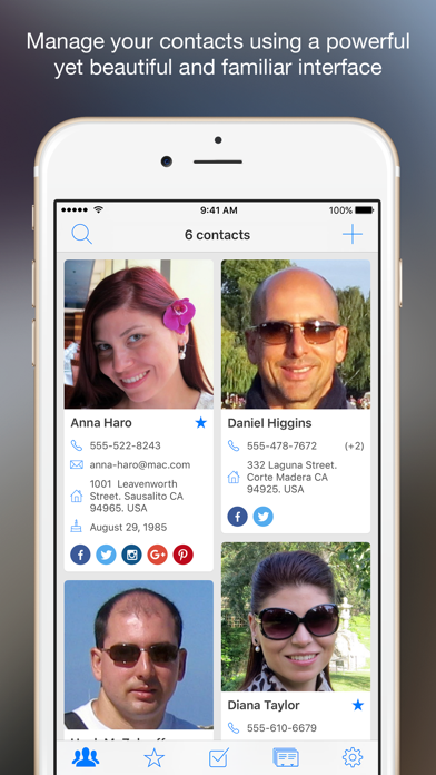 Contacts Board - Manage Your Contacts In Style