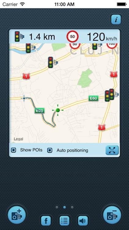 iSpeedCam Canada (SpeedCam Detector with GPS Tracking)