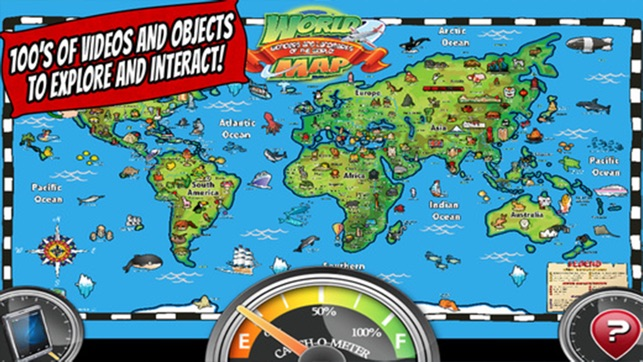 Popar world map on the app store gumiabroncs Gallery