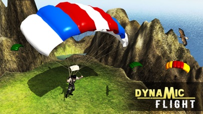 エアスタントシミュレータ3D - スカイダイビングフライトシミュレーションゲームのスクリーンショット1