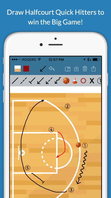 Basketball Clipboard Blueprint screenshot-3