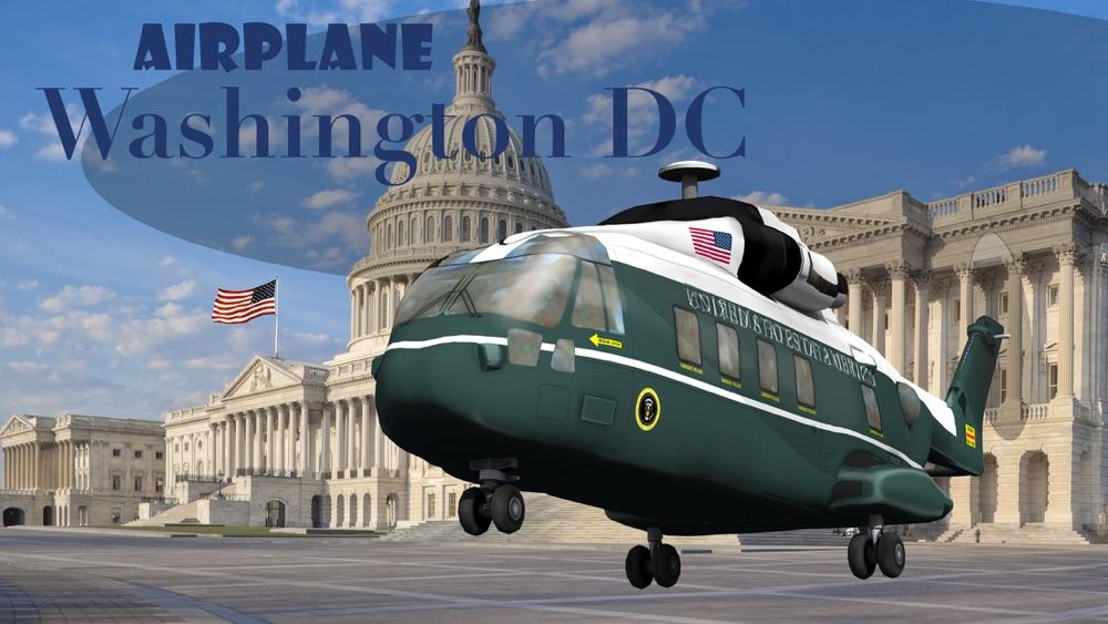 Airplane Washington DC