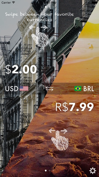 Currencies On The Move - The easiest converter screenshot-3