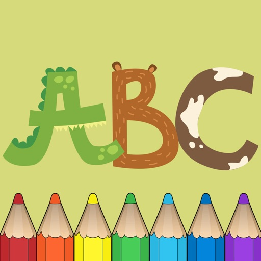 ABC Coloring Book for Kids ! Learn English Letters, Alphabet