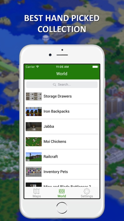 Maps & World Lite for Minecraft PC - Ultimate Collection for 2016