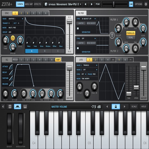 SynthesizersSamplers iOS App
