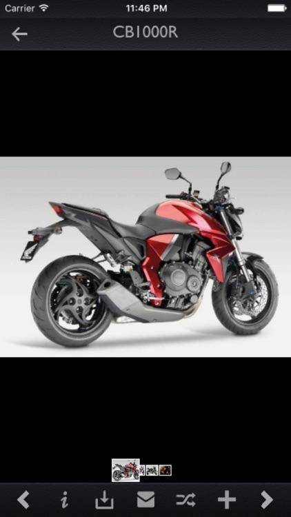 Honda Motorcycles Specs