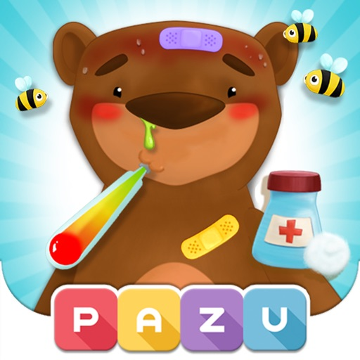 Jungle Care Taker - Kid Doctor for Zoo and Safari Animals Fun Game, by Pazu