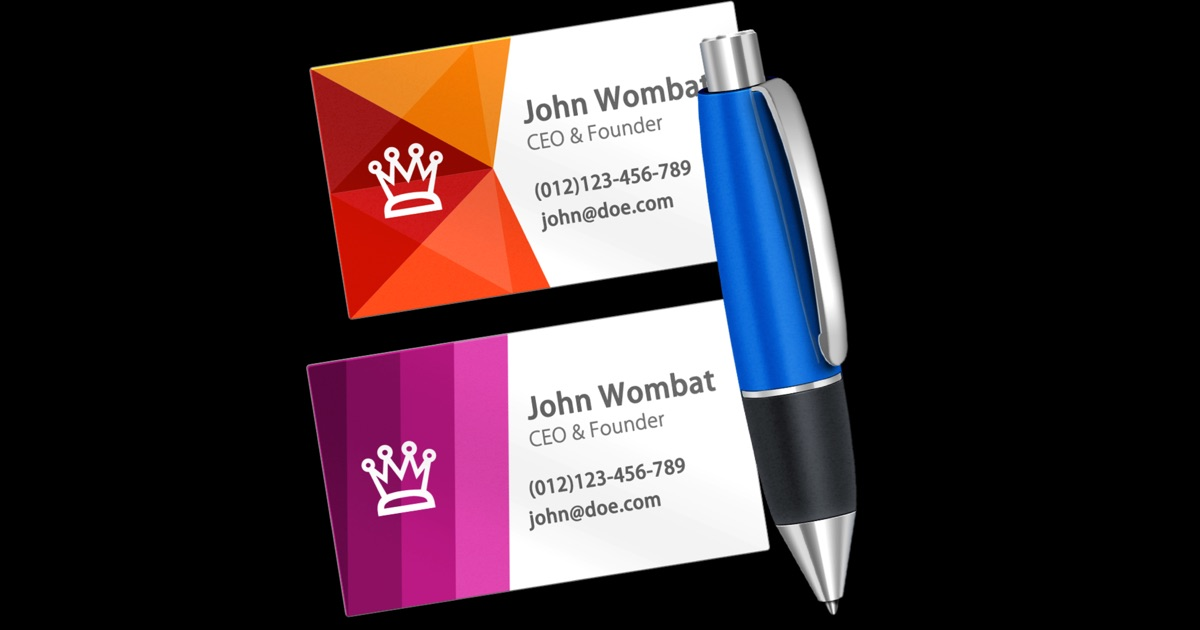 how to create business cards on mac - Passionative.co