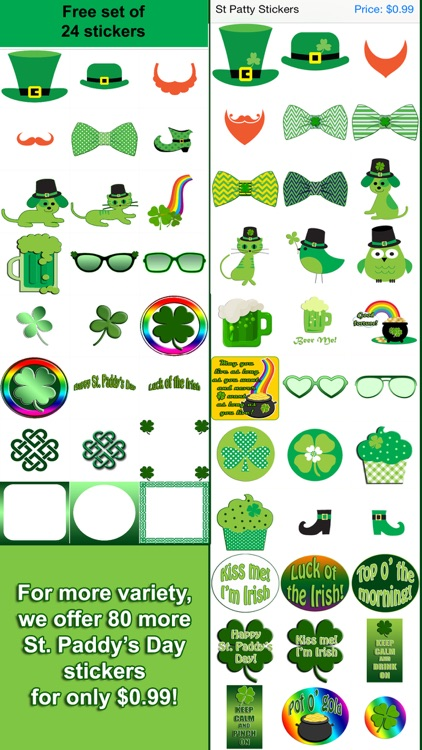 St Paddy's Stickers Pro screenshot-1