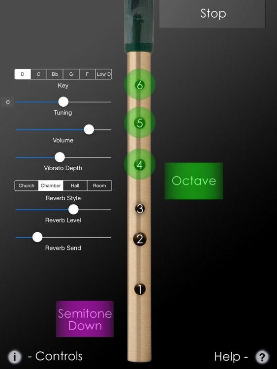 Tin Whistle Pro - Traditional Irish Whistle in Multiple Keys + Effects screenshot-0