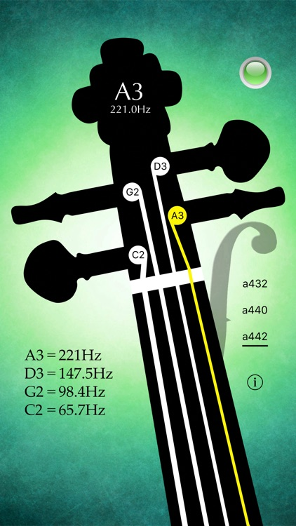 Cello Tuner Pro - Strings Tuner screenshot-1