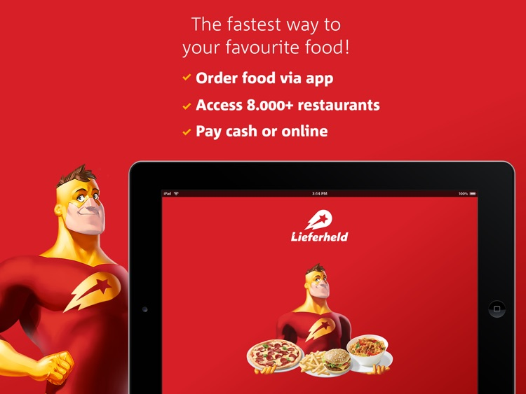 Lieferheld - Delicious food delivery service for i