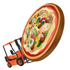 Activities of Pizza Delivery - The crazy truck fastfood deliver