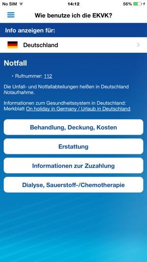 europ ische krankenversicherungskarte im app store. Black Bedroom Furniture Sets. Home Design Ideas