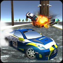 Extreme Car Derby Racer Snow Rally 2016