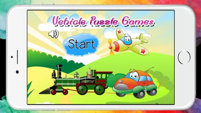 Vehicle Puzzles for Toddlers and Kids Free