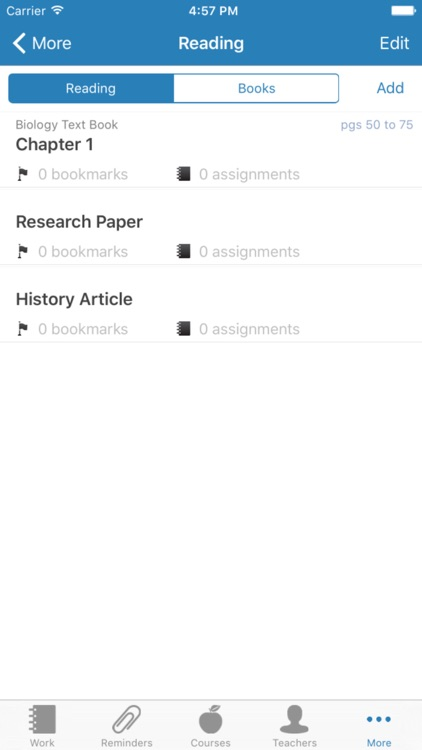 iHomework screenshot-3