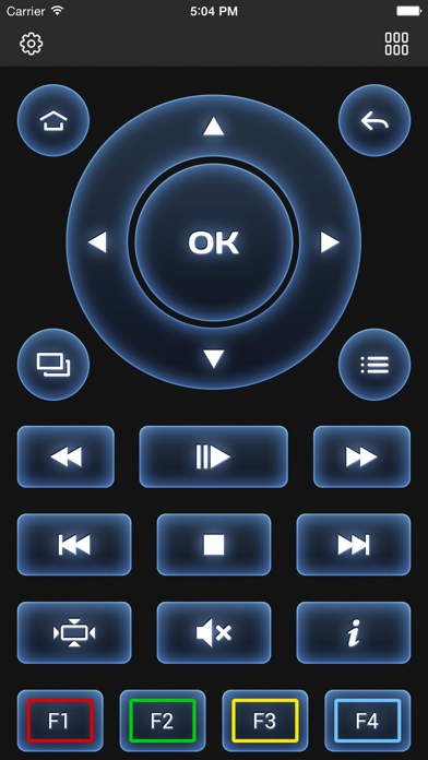 Screenshot #2 pour MAGic Remote - TV remote control
