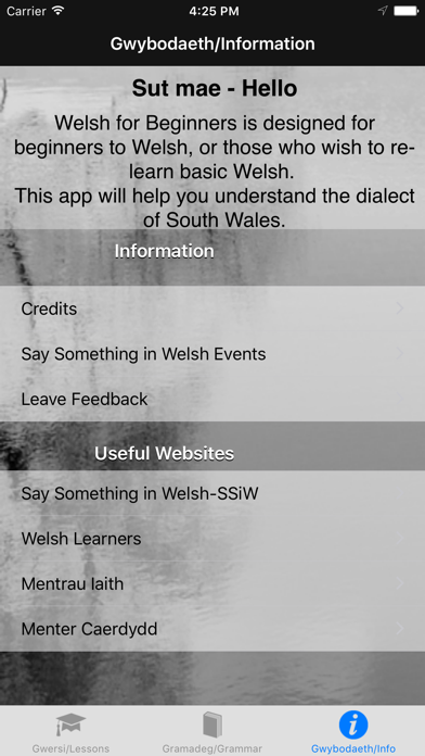 Welsh for Beginners screenshot three