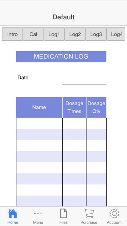 Medication Log screenshot-0