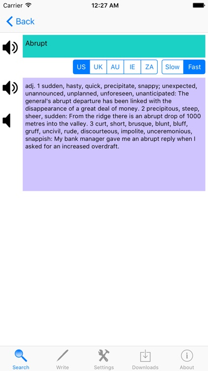 English Synonyms Dictionary Free With Sound