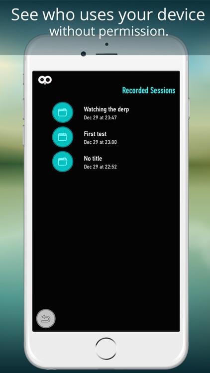 Motion sensor - motion detecting, hidden camera, video surveillance. screenshot-3