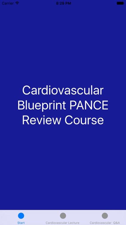 Cardiovascular Blueprint PANCE PANRE Review Couse