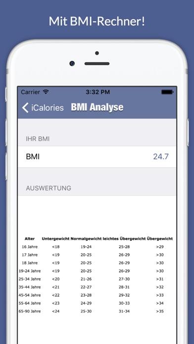点击获取iCalories - Kalorienbedarf und BMI berechnen
